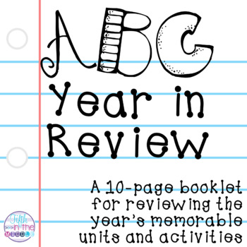 End of the Year - ABC Year in Review