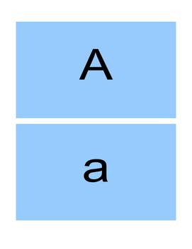 ABC/abc  Flash Cards booklet