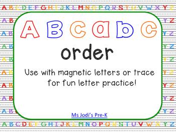 ABC abc Order