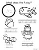 ABC (alphabet) Coloring Pages