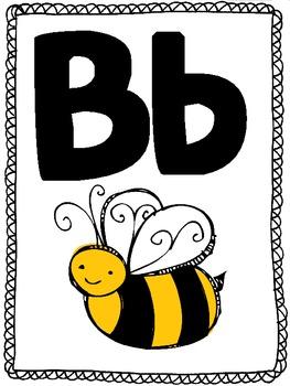 ABC- alphabet- poster set!