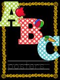 ABC alphabet posters