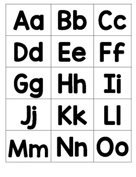 ABC and 123 File Folder Game