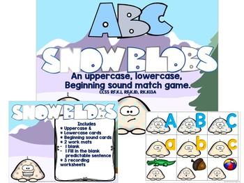 ABC and Beginning Sound Snowblobs