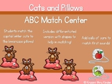 ABC and Beginning Sounds Match with Cats