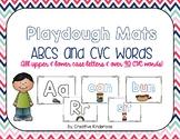 ABC and CVC Playdough Mats- HUGE Bundle!