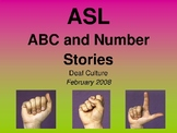 ABC and Number Stories PowerPoint