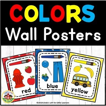 ABC and Numbers Wall Card Bundle