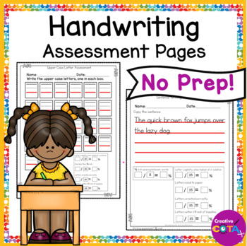 ABC and Sentence Handwriting Assessment