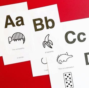 ABC and Sight Word Mini Books