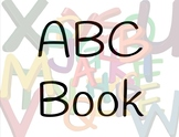 ABC Book PRE-A Reading Group To Trace