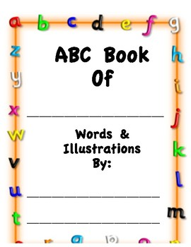 ABC book for any Theme!!