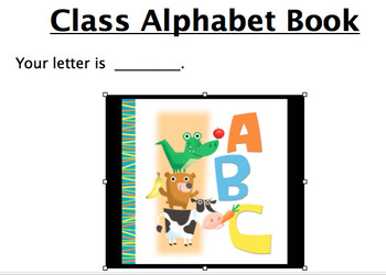 ABC book home assignment