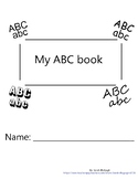 ABC book with Tracing Practice