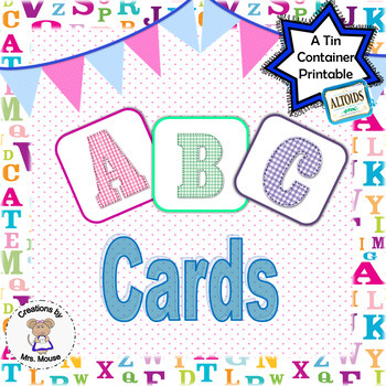 Phonics-Alpahbet Letters  - ABC cards