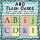 ABC chevron flash cards / posters