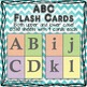 ABC chevron flash cards / posters