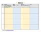 ABC (Antecedent-Behavior-Consequence) chart