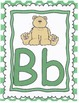 ABC charts in green dots with pictures