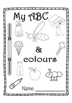 ABC & colors handwriting