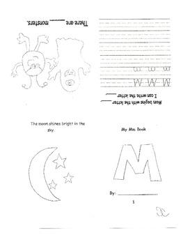 ABC foldable books