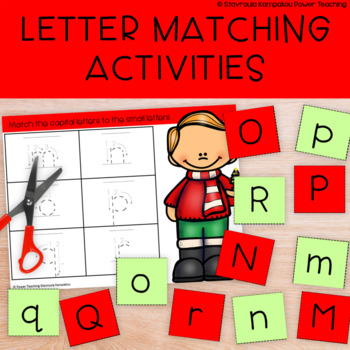 ABC for Christmas (Letter matching activities)