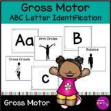 Letter Identification ABC Movement Gross Motor Exercise