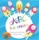 ABC ice cream puzzles