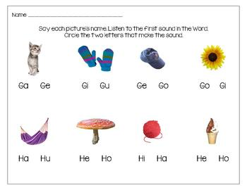 ABC in Spanish Worksheets