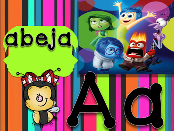 ABC inside out espanol manuscrito