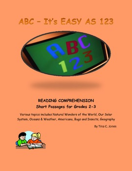 COMMON CORE:  2nd and 3rd Grade Reading Comprehension:  Sh