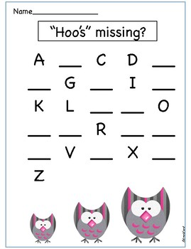 ABC letter sequence