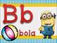 ABC minions espanol