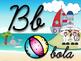 ABC nautical cursivo