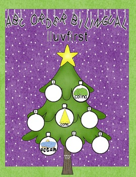 ABC order Bilingual-Christmas