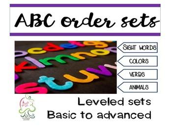 ABC order bundle accommodate multiple levels easily