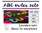ABC order bundle accommodate multiple levels easily