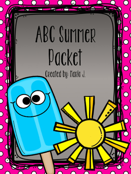 ABC packet Popsicle theme