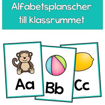 ABC-planscher