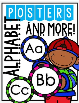 ALPHABETS POSTER AND MORE:
