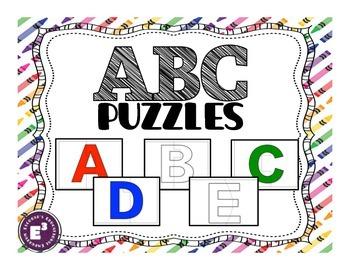 ABC puzzles - capital letters