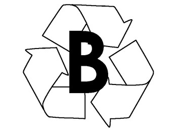 ABC recycle letters