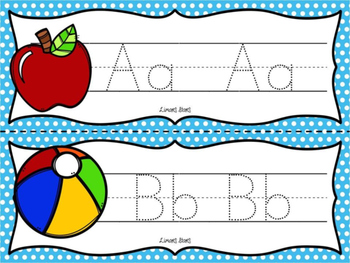 ABC's & 123's Write & Wipe Handwriting Cards {NO DITTOS}