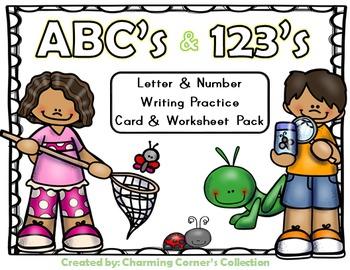 ABC's & 123's Writing Practice