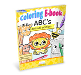 ABC's Alphabet Coloring Ebook Animal Edition by CraftyPammy