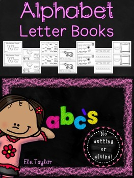 ABC's!  Alphabet Letter Books