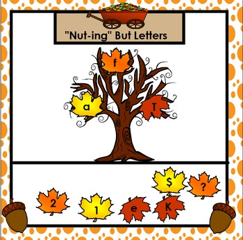 SMARTBOARD ABC's:  Autumn Edition