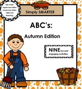 SMARTBOARD ABC's:  Autumn Edition