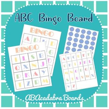 ABC's BINGO!