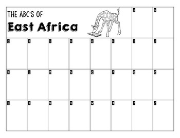 ABC's Chart - East Africa